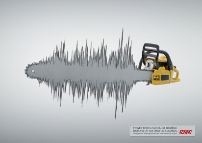 Электроинструменты могут повредить слух