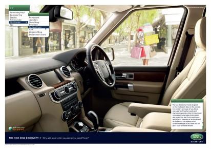 Реклама автомобиля DISCOVERY