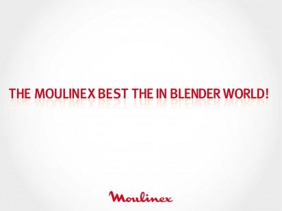 Moulinex лучший в мире блендеров...