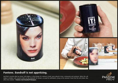Реклама против перхоти