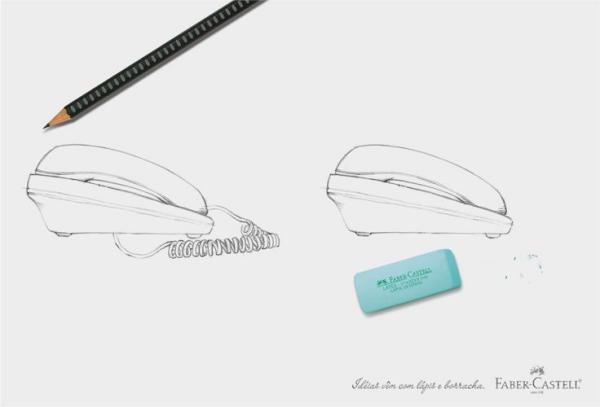 Реклама карандашей