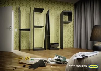 Помощь в сборке мебели
