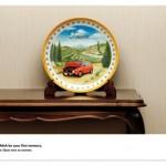 Креативная #reklama №377 — Подарочные тарелочки автосервиса Volkswagen: Мы не допустим что бы маленькие неприятности стали Вашим первым воспоминанием