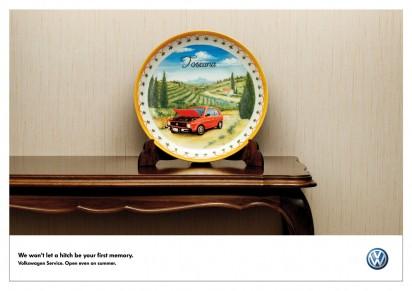 Тарелка Volkswagen