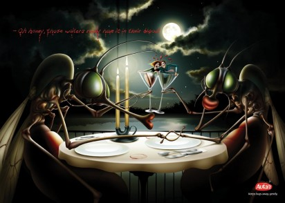 Реклама средства против комаров Autan