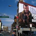 Креативная #reklama №502 — Рекламный билборд игры GTA IV