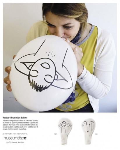 Рекламный шарик