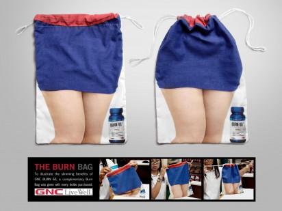 Креативная реклама средства для похудения