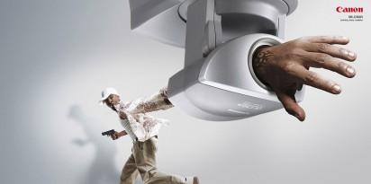 Реклама камеры наблюдения Canon