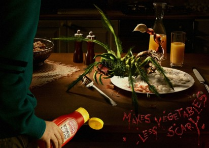 Реклама кетчупа Werder