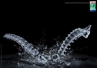 Реклама концентрата с высоким содержанием кальция Anlene