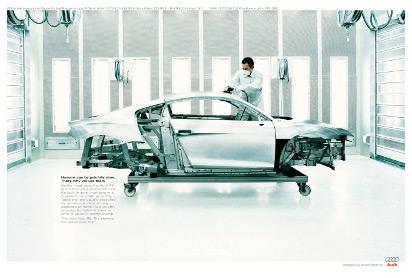 Реклама Audi R8: Самая медленная машина