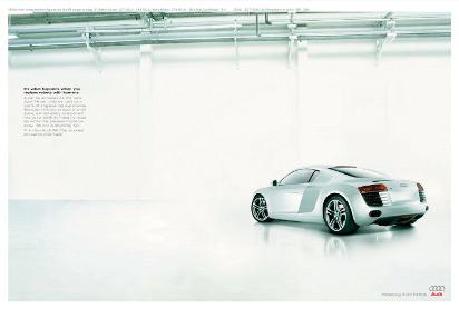 Реклама муперкара Audi R8