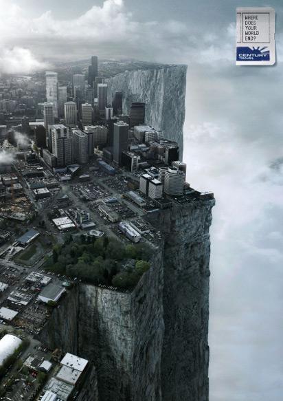 Реклама туристического агентства Century Travel