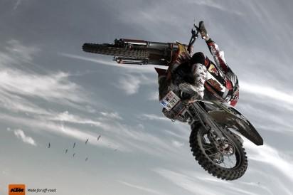 Реклама мотоциклов KTM
