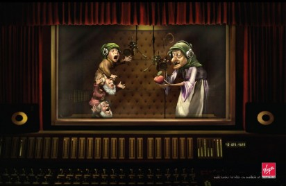 Реклама студии звукозаписи