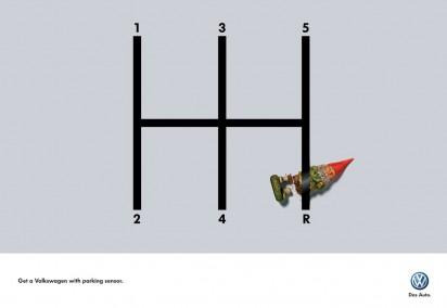 Реклама Датчика парковки от Volkswagen