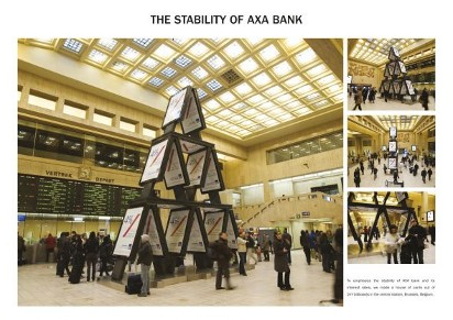 Реклама Банка AXA