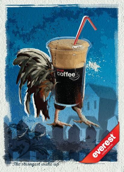 Реклама кофе Everest