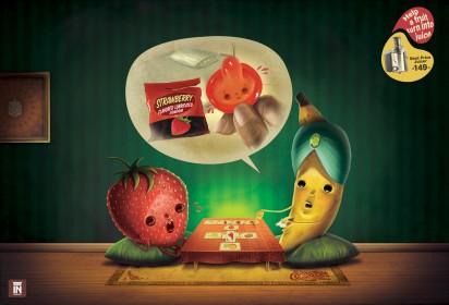 Реклама соковыжималки