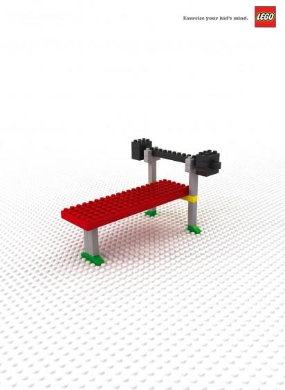 Реклама Lego