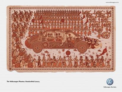 Креативная Реклама Volkswagen Phaeton