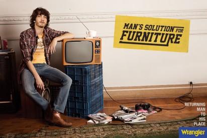 Реклама одежды Wrangler