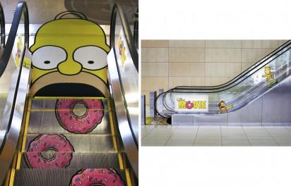 Рекламный эскалатор