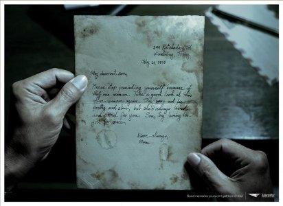 Пишите близким письма