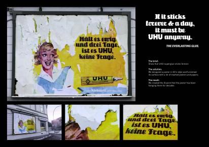 Креативная реклама клея