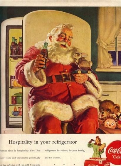 Новогодняя реклама кока-кола