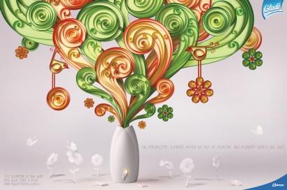 Цветы: освежитель воздуха