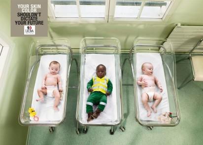 Реклама против расизма