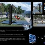 Креативная #reklama №750 — 3D телевизор Samsung: Качели