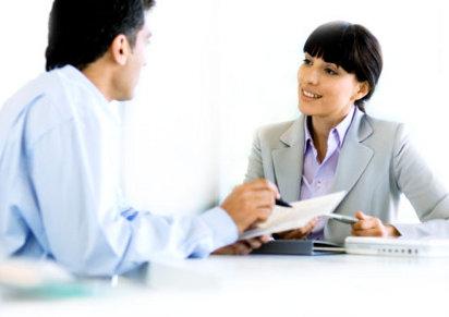 Собеседование о приёме на работу