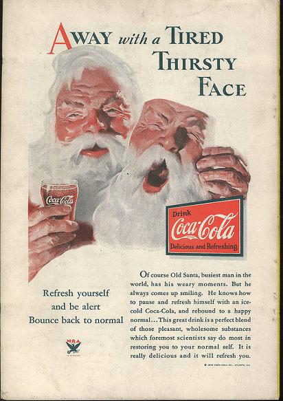 Реклама колы 1933 года