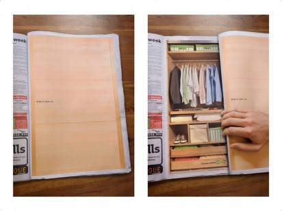 Реклама мебели а журнале