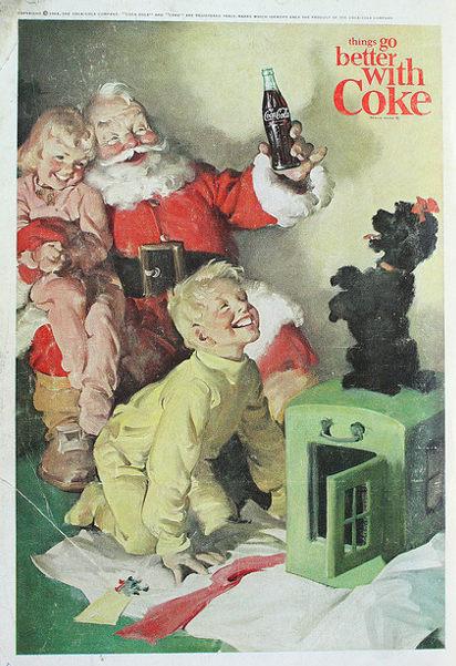 Реклама Кока-Кола