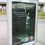 Креативная #reklama №881 — Организация Армия Спасения: Ваши пожертвования помогут сохранить чувство собственного достоинства