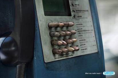 реклама обеззараживающего геля