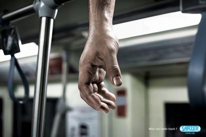 Реклама геля для рук