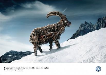 Реклама Volkswagen Amarok