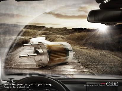 Audi фильтр