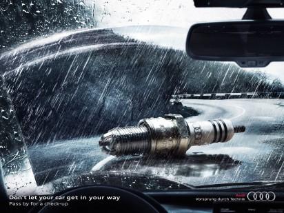 Креативная реклама Audi
