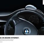 Креативная #reklama №917 — Автомобили BMW подружились с Интернетом