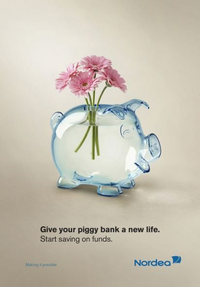 Креативная реклама банка