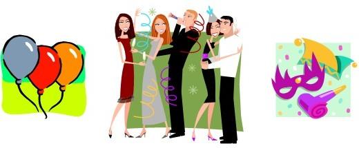 Корпоративная вечеринка: Новый Год, День Рождения фирмы, Новичок