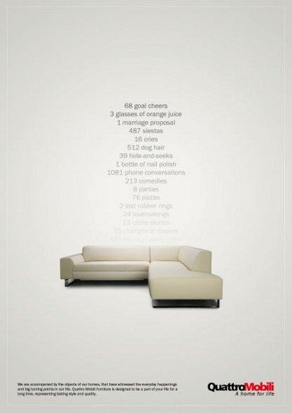 Хорошая реклама мебели