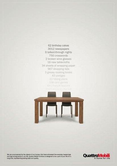 Реклама мебели