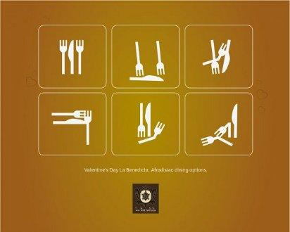 Креативная реклама ресторана